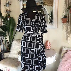 NWT Faux wrap Apt 9 dress